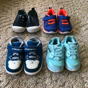 Boys Tennis Shoe Bundle (incl. Nike and Jordan)